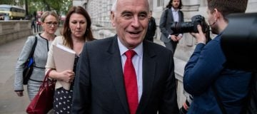 John McDonnell tells CEOs: Karl Marx's analysis has to be taken into account