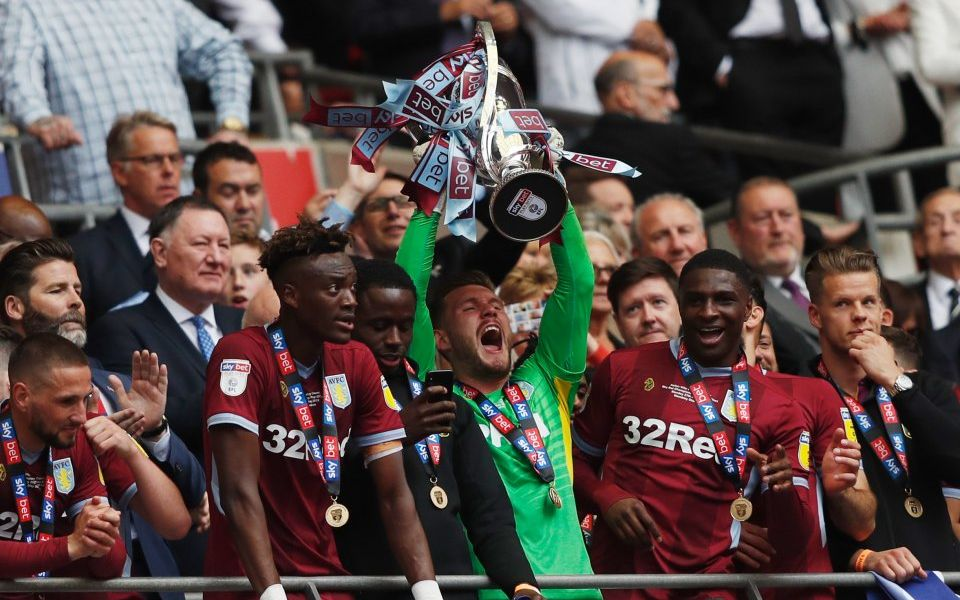 Aston Villa hit £170m jackpot after promotion gambles pay off against Derby County