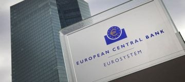 ECB warns low growth could see Eurozone asset prices fall and borrowing costs rise