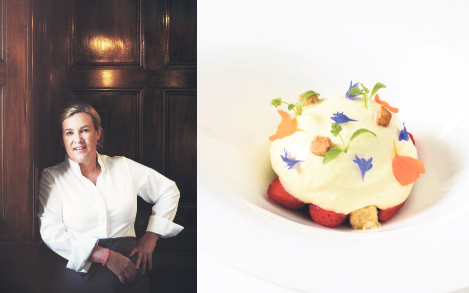 Weekly Grill: Double Michelin starred chef Hélène Darroze talks about her new restaurant in Paris, the joy of boiled eggs and cooking for Jacques Chirac