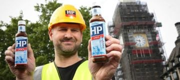 HP Sauce changes iconic brown sauce label to show Big Ben covered in scaffolding