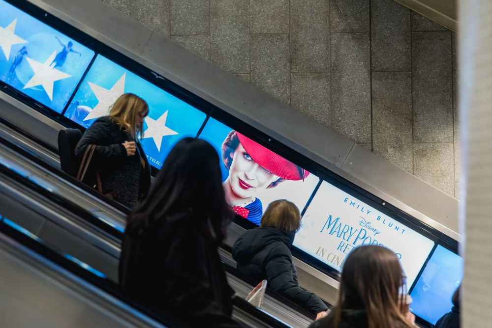 Exterion Media rolls out new digital screens across London Underground