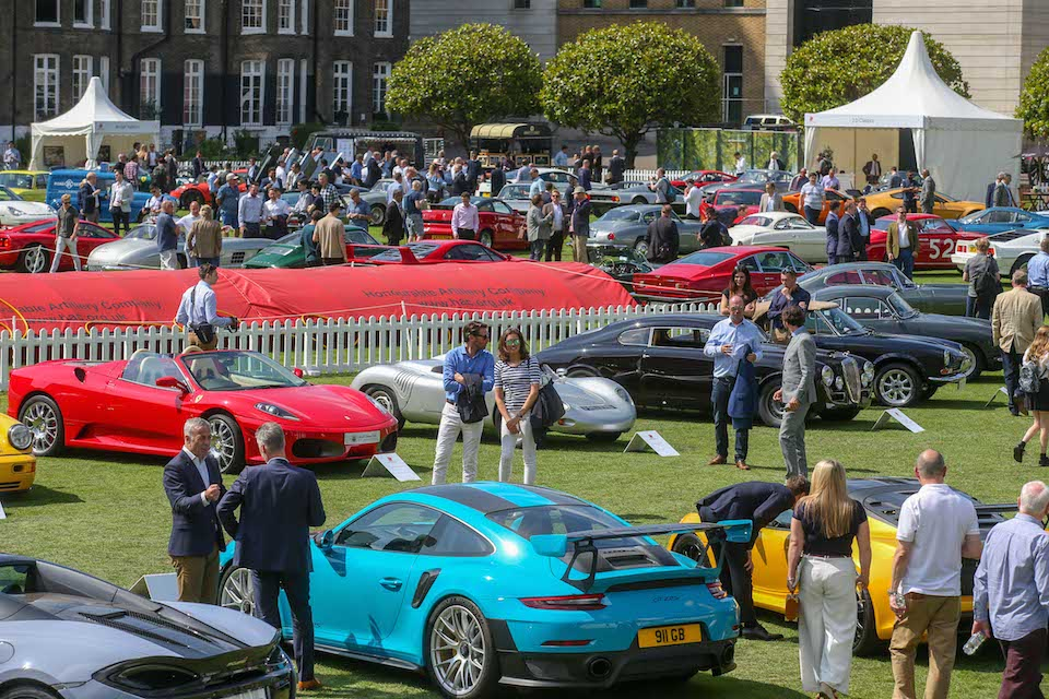 Square Mile gears up for luxury summer car show