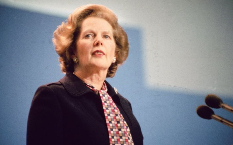 Margaret Thatcher voted top Prime Minister on 40th anniversary of her first election win