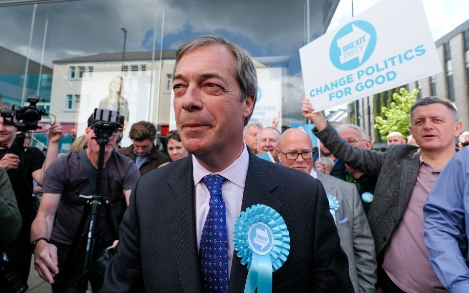 Nigel Farage attacks Electoral Commission as 'full of Remainers' after review of his party's funding