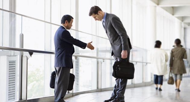 Handshake, bow, or kiss? A global guide to business etiquette