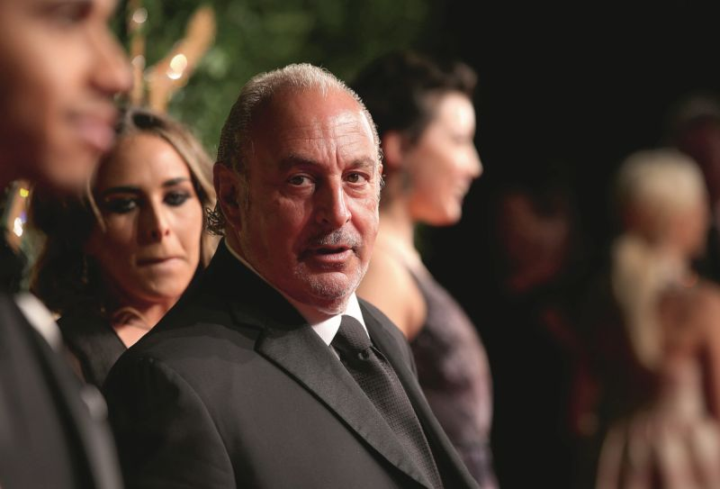 Sir Philip Green 'grabbed breasts' of female workers, Labour peer claims