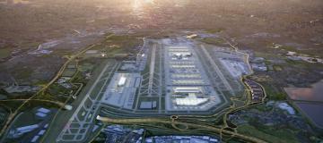Heathrow's CGI of the third runway