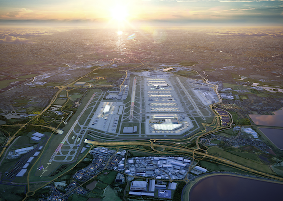 Heathrow airport reveals third runway 'masterplan'