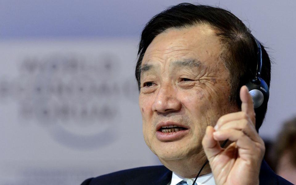 Huawei founder Ren Zhengfei says China should not retaliate over US trade ban