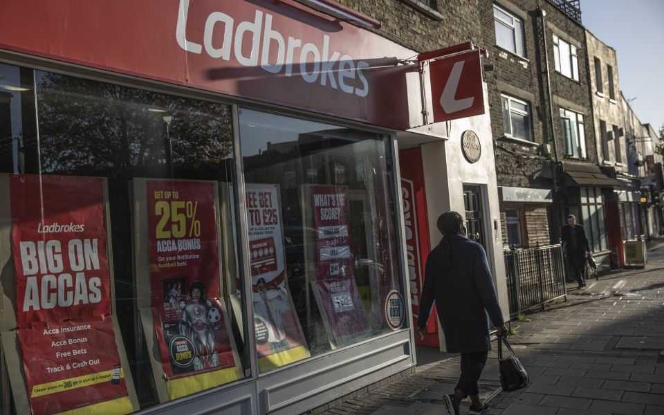 Cash out: Troubled Ladbrokes boss takes a punt on cutting pay in bid to stop investor revolt