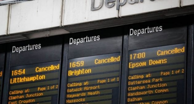Train delays and shoddy rail service are holding back British business