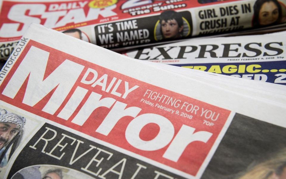 Mirror publisher Reach posts revenues slip ahead of shareholder showdown