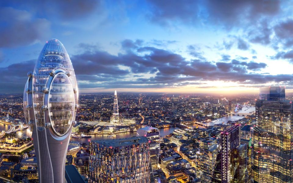 Sadiq Khan rejects Tulip tower planning application