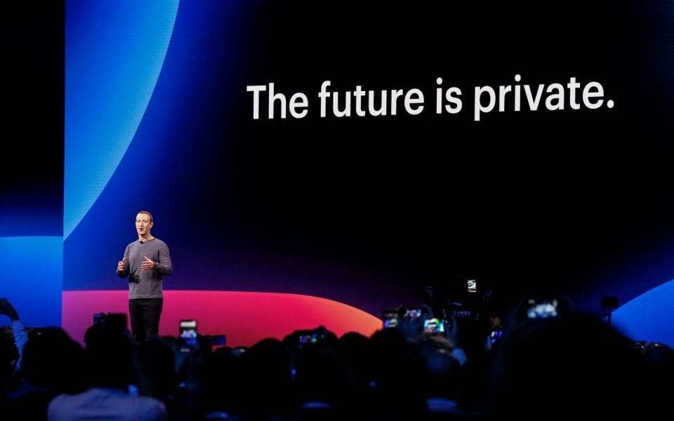 Facebook ditches blue design as CEO Mark Zuckerberg throws focus on privacy