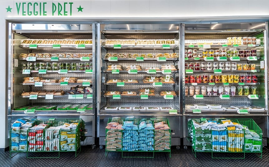 Pret A Manger eats Eat but vows to go veggie in new stores