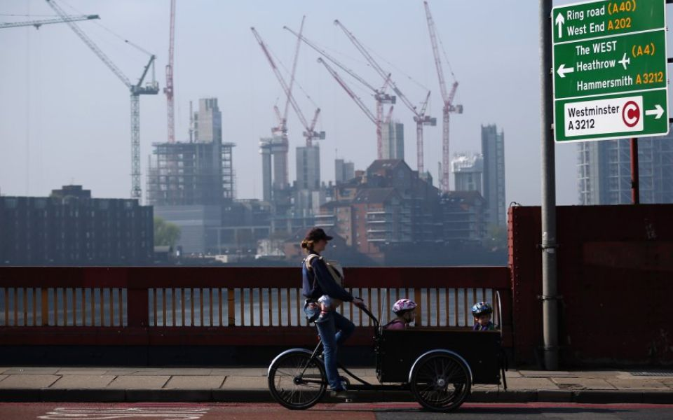 House building props up otherwise struggling construction industry as sector returns to growth