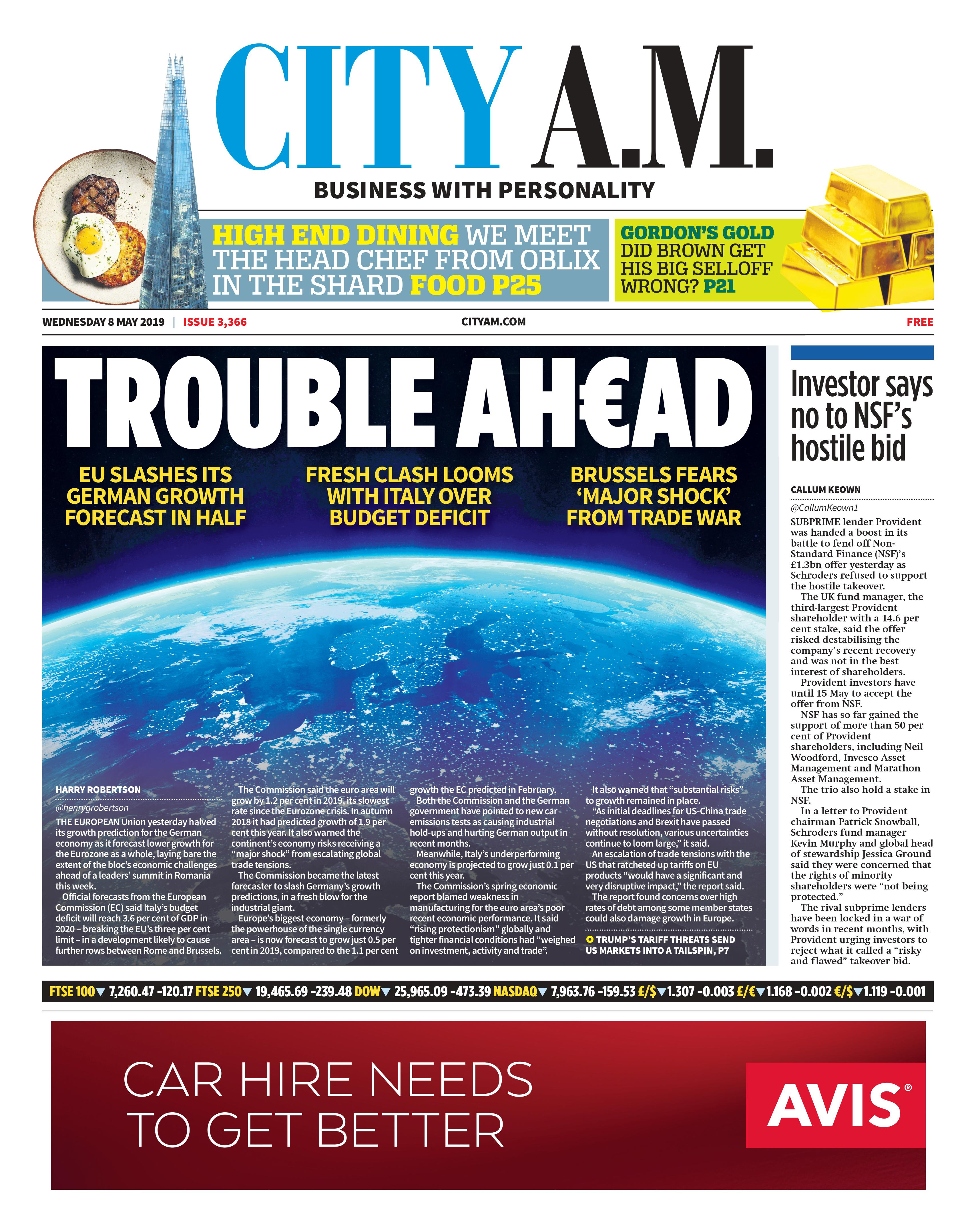 Latest Editions - CityAM : CityAM