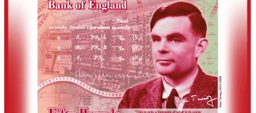 Bank of England reveals face of new £50 note