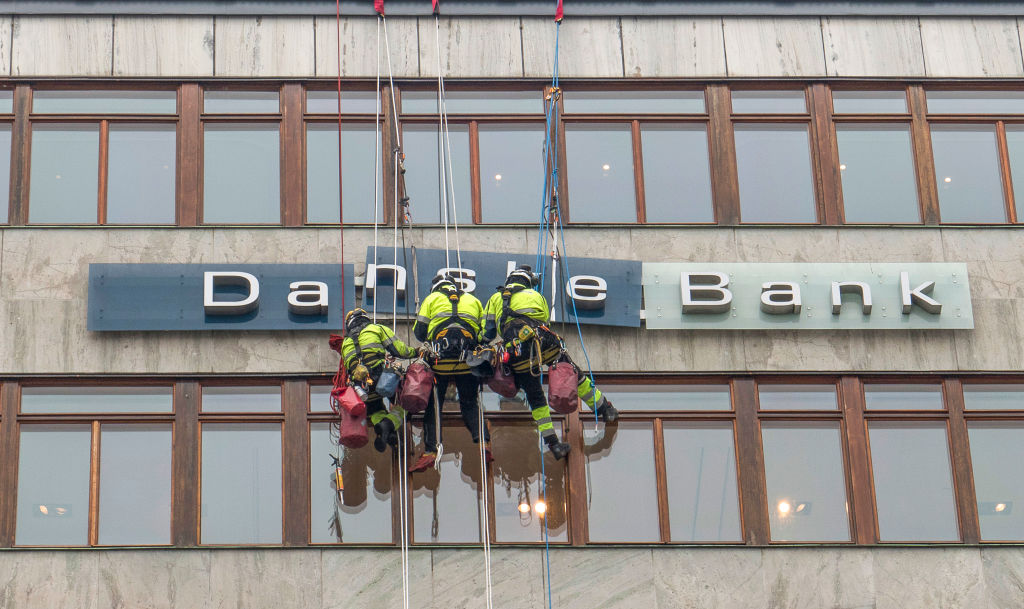 Danske Bank misses profit estimate after troubled 12 months