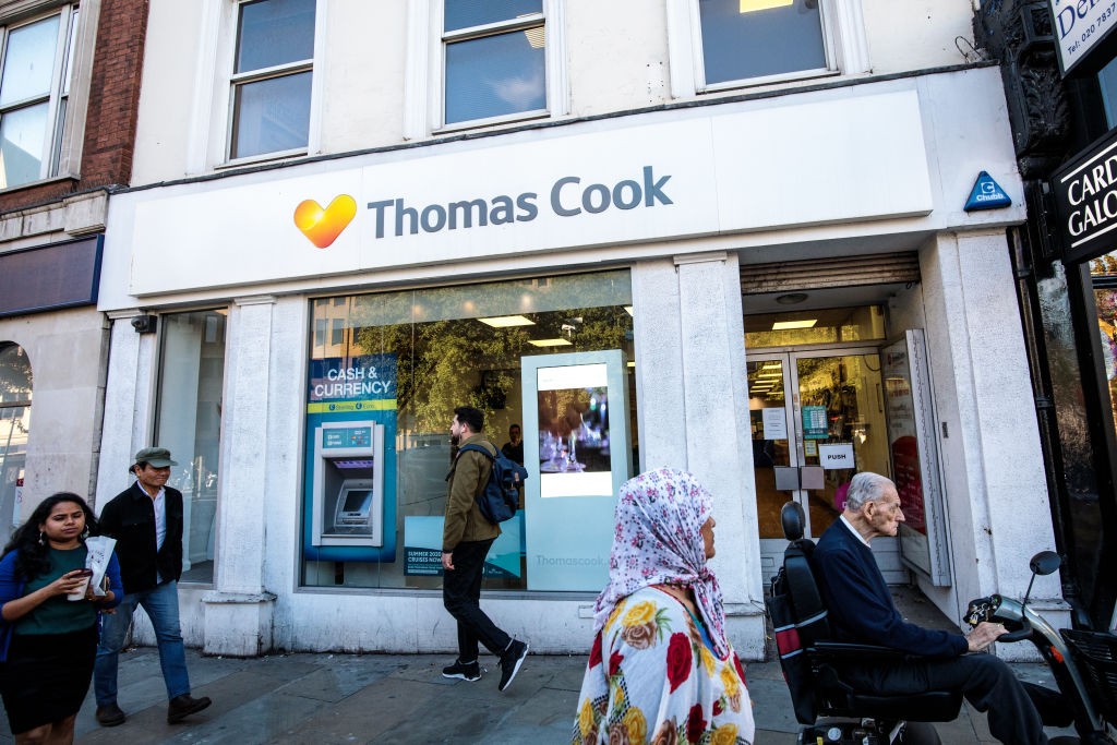 Thomas Cook shares hit record low amid £750m takeover talks with Fosun
