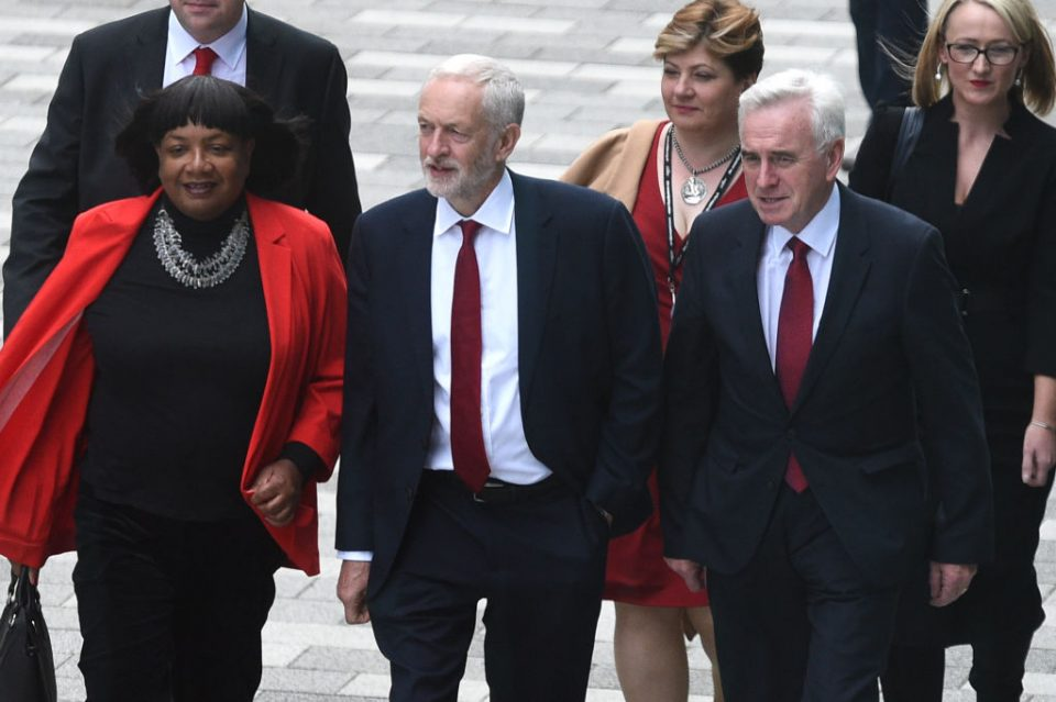 John McDonnell dismisses claims of civil war at top of Labour