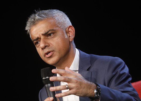 Sadiq Khan said he was on course to meet the 10,000 target on TfL land by 2021