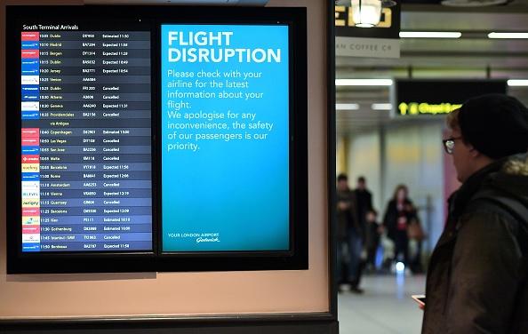 Gatwick suspension: Flights resumed but airport warns of delays