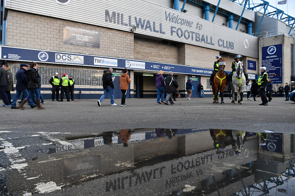 LONDON, ENGLAND - JANUARY 26: General view outside the stadium prior to the FA Cup Fourth Round match between Millwall and Everton at The Den on January 26, 2019 in London, United Kingdom.  (Photo by Justin Setterfield/Getty Images)