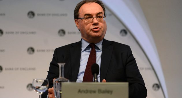 FCA boss Andrew Bailey heckled by victims of financial scandals