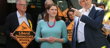 Jo Swinson and Sir Ed Davey are vying to be the next Lib Dem leader