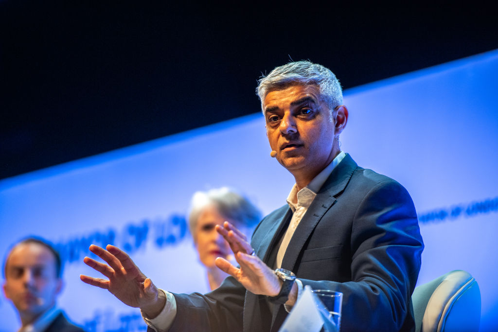 Sadiq Khan said Labour MPs should be whipped to back Remain in a second referendum