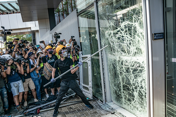 China accuses Hong Kong protesters of 'undisguised challenge' to running of city