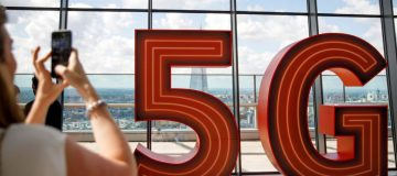 Vodafone launched its 5G rollout in early July with a large 5G sign on display