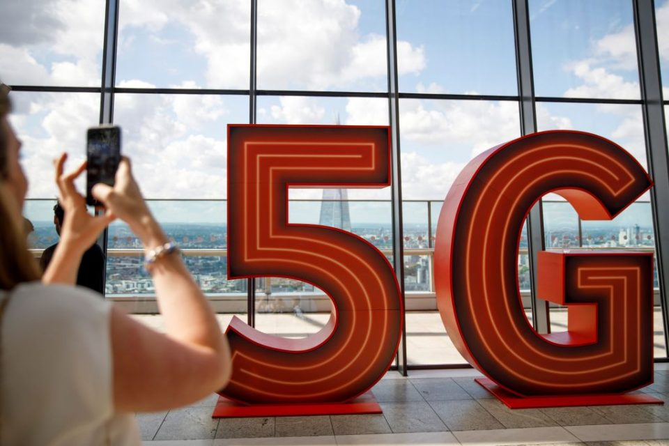 Ofcom this morning said that it had raised £1.4bn from an auction of new airwave capacity to support 5G mobile coverage.
