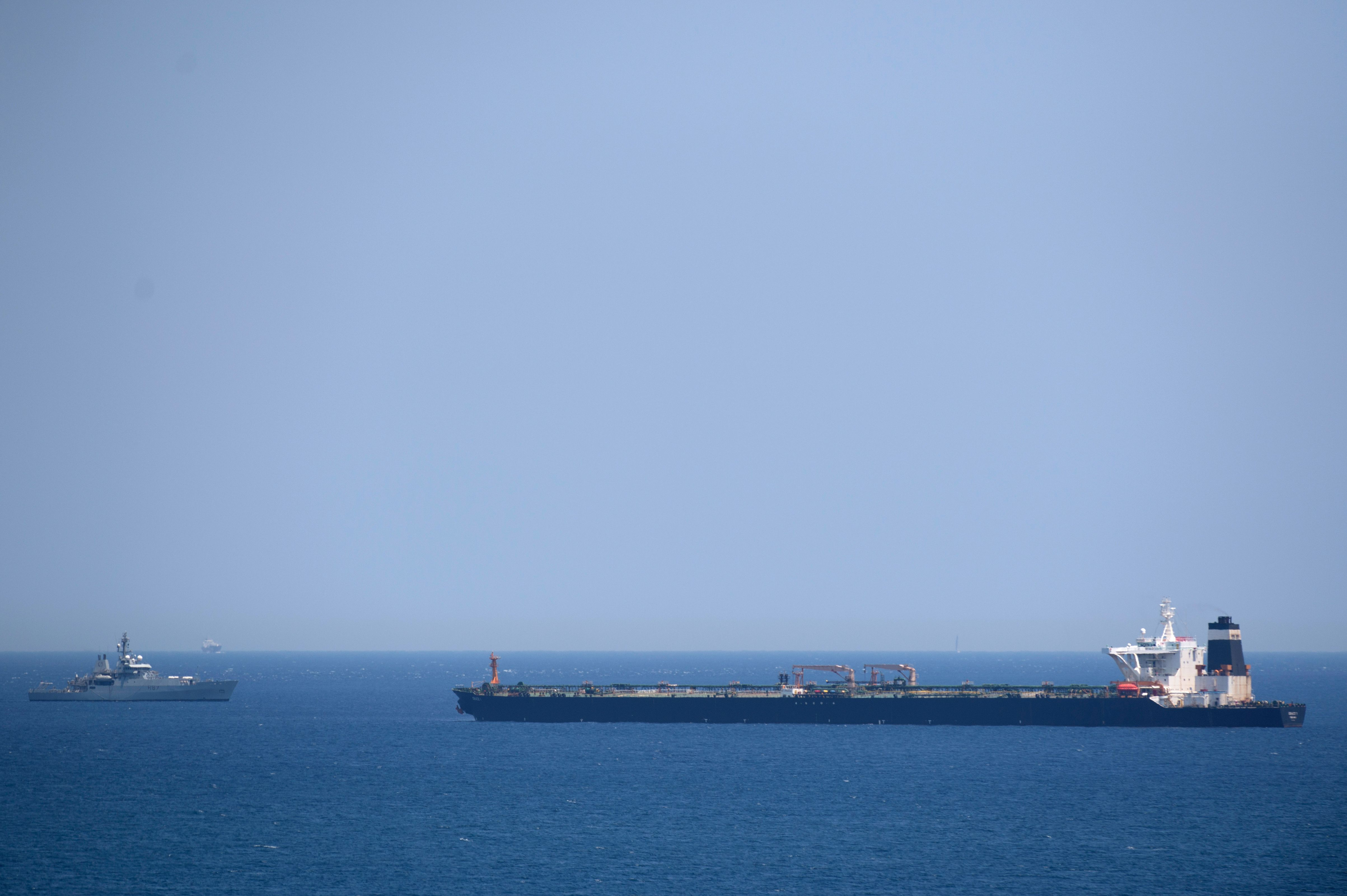 Iran urges UK to release seized oil tanker as tensions escalate
