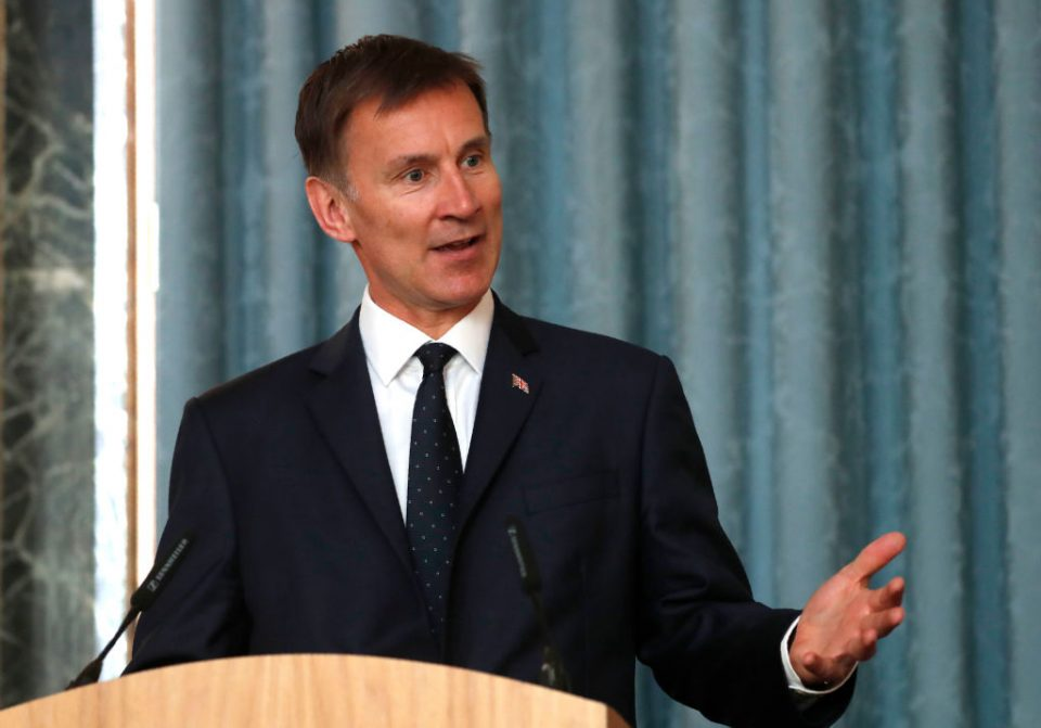 Jeremy Hunt says time running out to save Iran nuclear deal