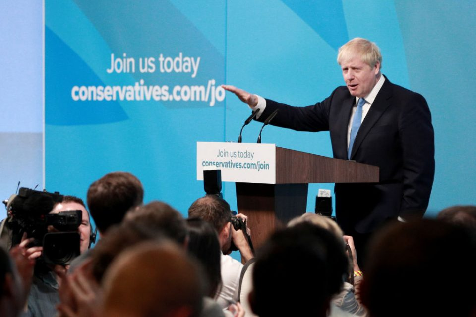 Boris Johnson has been elected leader of the Tory party with over 66 per cent of the vote