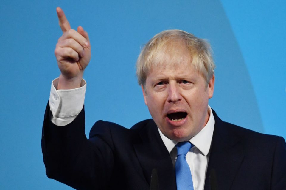 Boris Johnson was elected leader of the Tory party with over 66 per cent of the vote