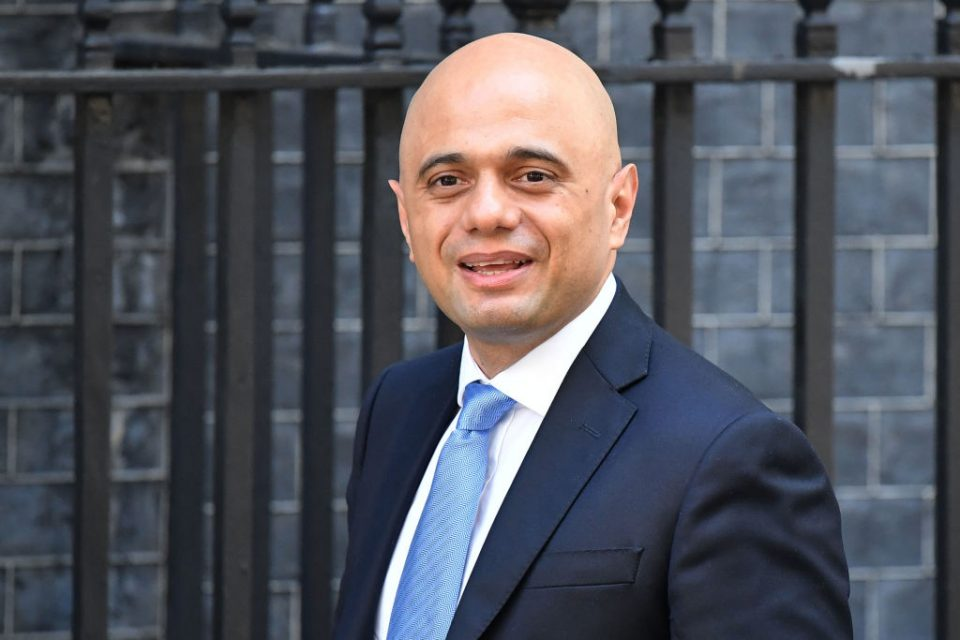 Sajid Javid is the new chancelor of the Exchequer