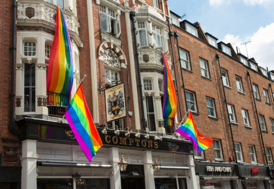 Londoners are set to fly flags to show their support forLondon Pride 2019