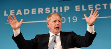 Boris Johnson said there was the technology available to solve the Irish border question in the Brexit negotiations