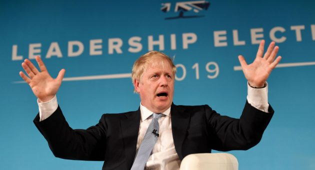 Boris Johnson likens Brexit to moon landings as Tory leadership voting enters final day