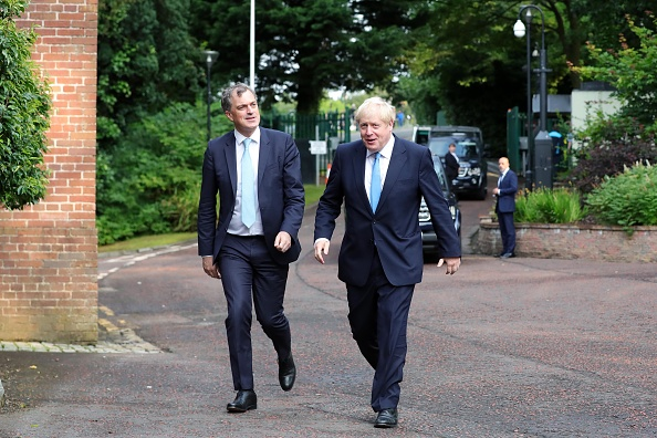 Boris Johnson visits Northern Ireland for talks to resolve power-sharing stalemate