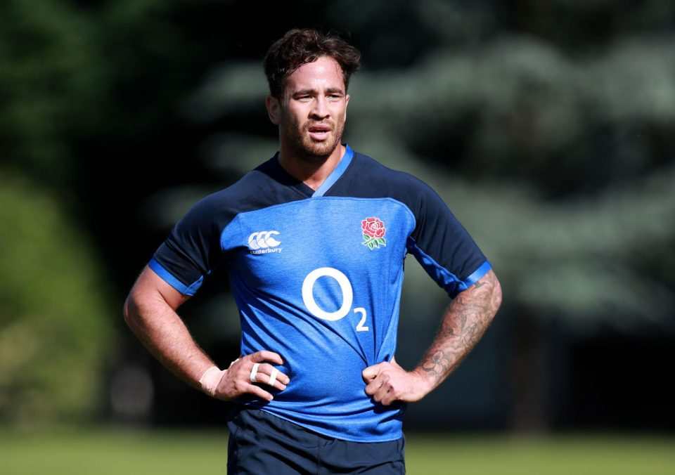 LONDON, ENGLAND - JULY 02:  Danny Cipriani looks on during the England training session held at the Lensbury Club on July 02, 2019 in London, England. (Photo by David Rogers/Getty Images)