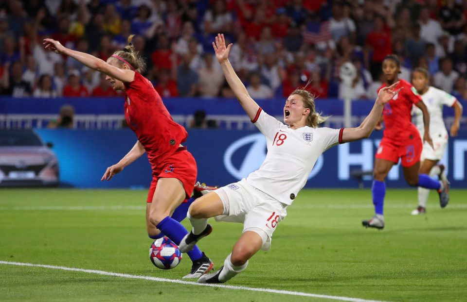 England 1-2 United States: Lionesses' frenetic play trumped by controlled game plan in Women's World Cup semi-final