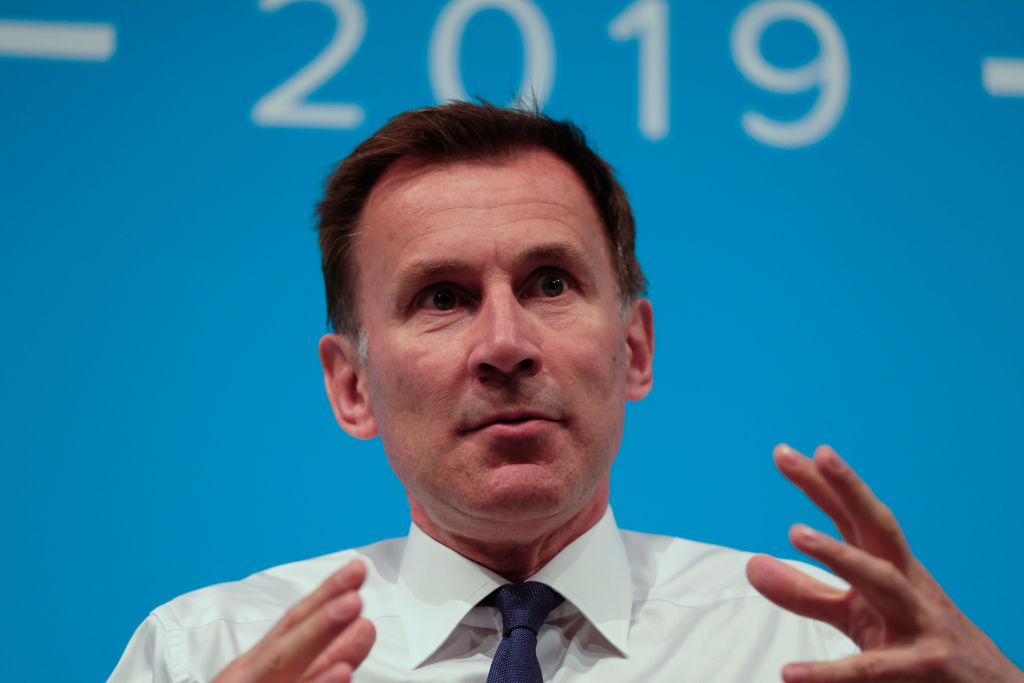 Hunt is right to take a firm line on China