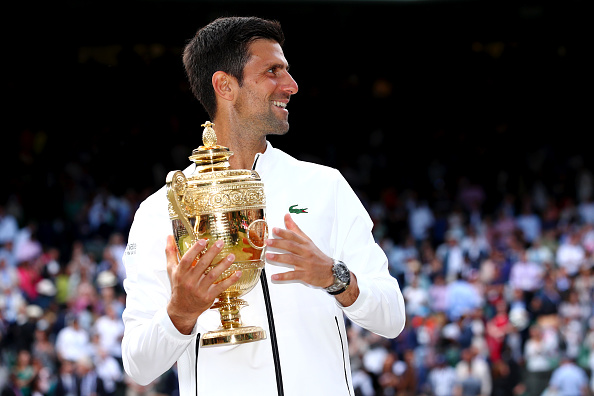 Wimbledon 2019 Novak Djokovic Outlasts Roger Federer In Titanic Final And Closes In On His Tally Of Grand Slam Titles Cityam Cityam