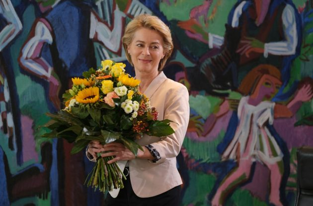 Ursula von der Leyen was narrowly elected as the new head of the EU Commission