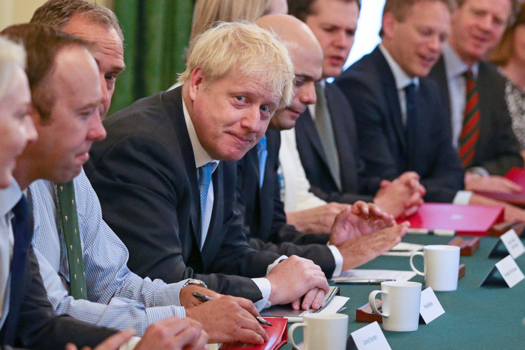 Boris Johnson takes aim at Brussels in fresh Brexit battle